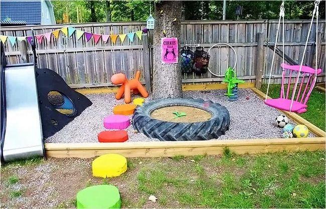 Площадка для игр на даче