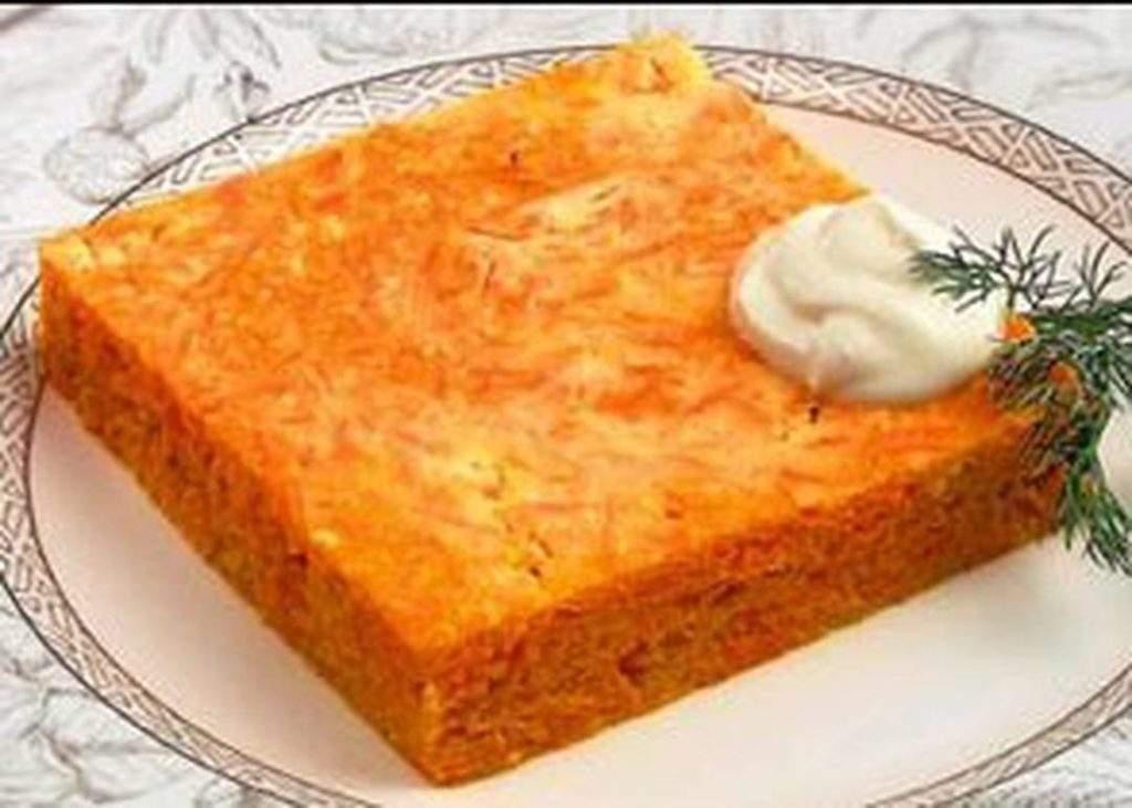 Запеканка морковно-творожная. Блюда из моркови