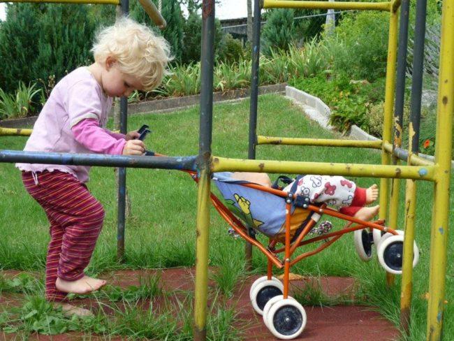 Детская безопасность на даче