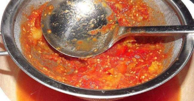 Приготовление домашнего кетчупа