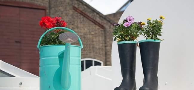 Идеи для декора сада своими руками с фото