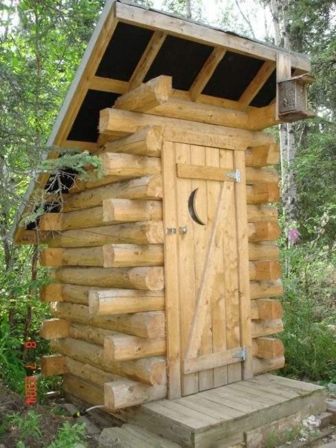 Фото туалета на даче