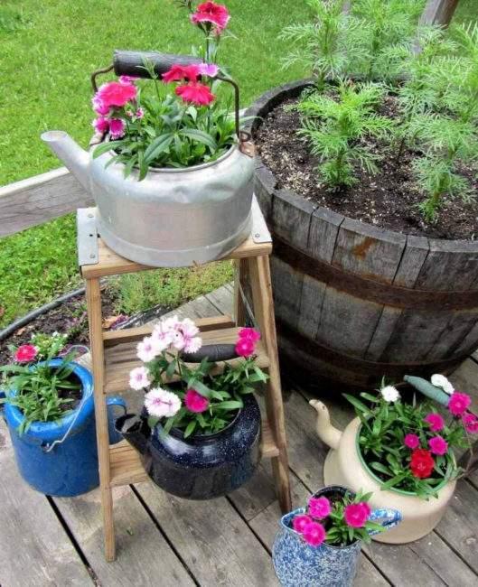 Варианты оформления сада