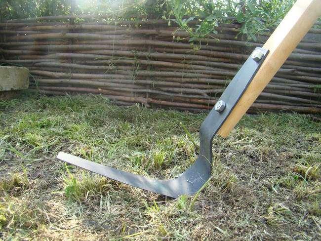Инструмент для прополки: плоскорез Фокина