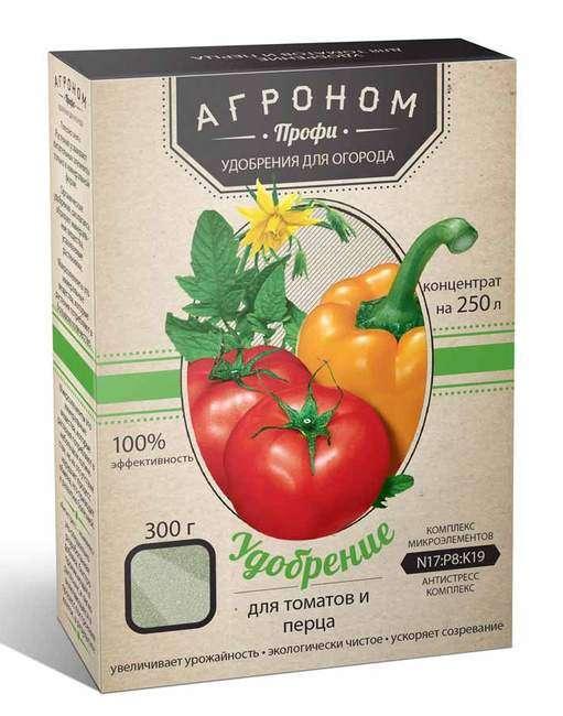 Удобрение для томатов и перцев