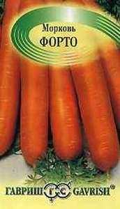 Сорт моркови Форто