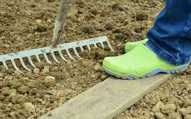 Рыхление почвы перед посадкой