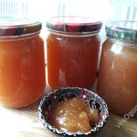 Как приготовить яблочный джем на зиму – Пошаговый рецепт с фото