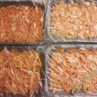 Заморозка моркови на зиму в морозилке