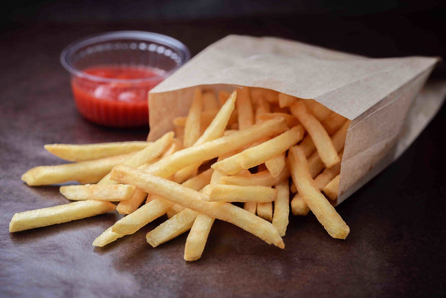 Из картошки Колетте делают картошку фри