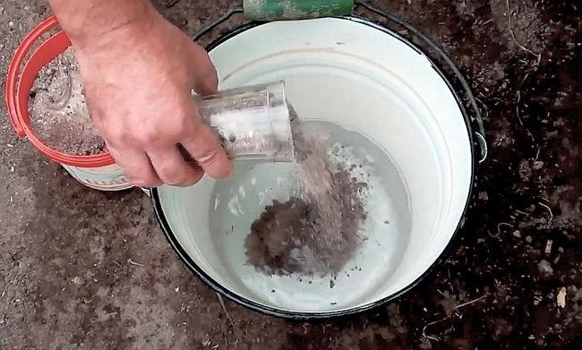 Дозироване помета голубей при удобрении