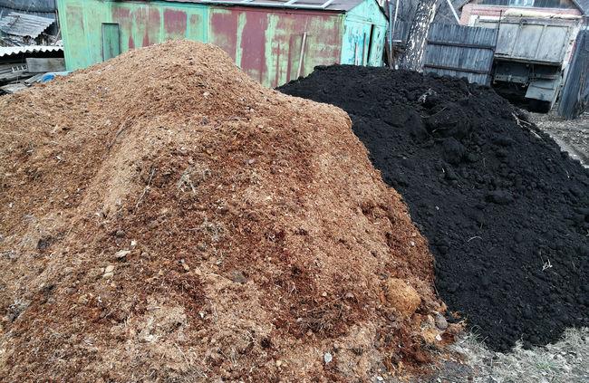 Изготовление почвосмеси с перегноем