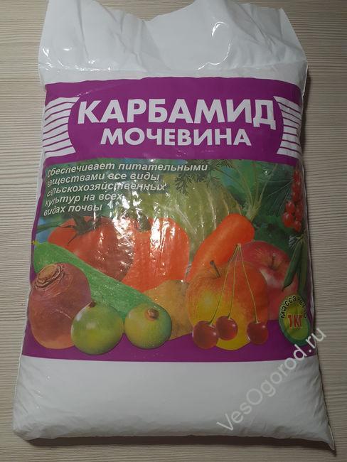 Карбамид азотное удобрение