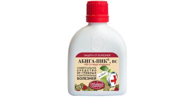 Абига-пик для лечения садовых болезней
