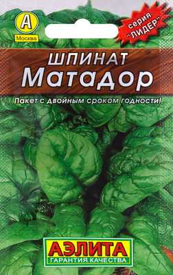 Сорт шпината Матадор