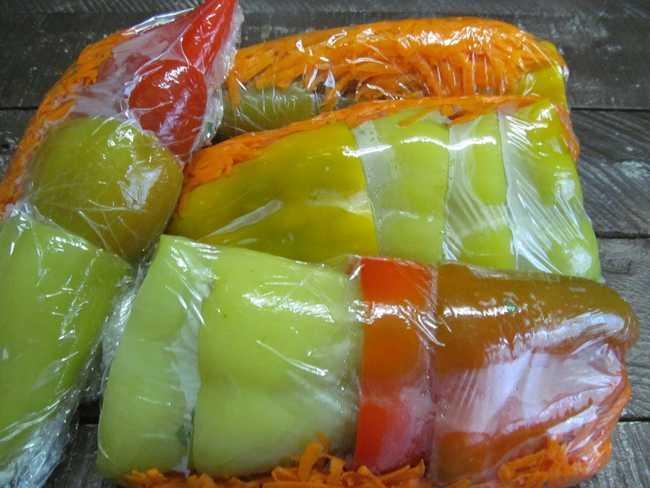 Как сохранить перец в морозилке